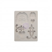 "Prima Finnabair Anabelle 3.5""x4.5"" Decor Mould 966577"
