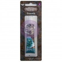 Prima Finnabair Art Alchemy Emerald Green Metallique Wax 968397