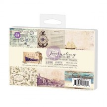 "Prima Marketing French Riviera 4""x6"" Journaling Note Card Pad 990985"