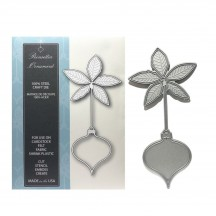 Memory Box Poinsettia Ornament Universal Cutting Die - 99193