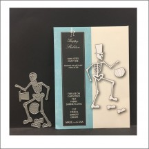 Memory Box Happy Skeleton Universal Cutting Die - 99195