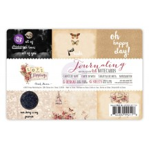 """Prima Marketing Love Clippings 4""""x6"""" Journaling Note Card Pad 992118"""