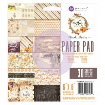 """Prima Marketing Frank Garcia Amber Moon 6""""x6"""" Double-Sided Paper Pad 32 sheets 993139"""