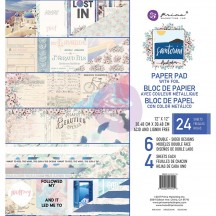 "Prima Marketing Frank Garcia Santorini 12""x12"" Paper Pad 994150"