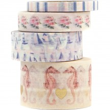 Prima Frank Garcia Golden Coast Decorative Washi Tape Set 995201