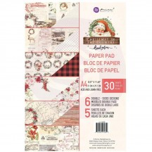 Prima Frank Garcia Christmas in the Country A4 Double-Sided Paper Pad 995300