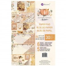 Prima Frank Garcia Autumn Sunset A4 Double-Sided Paper Pad 30 sheets 995508