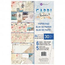 Prima Frank Garcia Capri A4 Double-Sided Paper Pad 30 sheets 995980