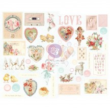 Prima Frank Garcia Magic Love Self Adhesive Chipboard Accent Shape Stickers 996727