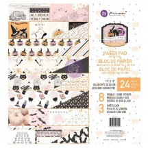 """Prima Frank Garcia Thirty One Halloween 12""""x12"""" Double-Sided Paper Pad 997229"""