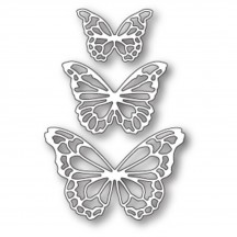 Memory Box Potenza Butterfly Trio Universal Cutting Die - 99740