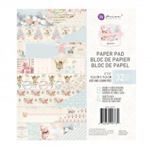 """Prima Frank Garcia Christmas Sparkle 6""""x6"""" Double-Sided Paper Pad 997731"""