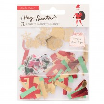Crate Paper Hey, Santa Christmas Confetti Embellishment Pack 373224