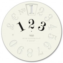 Clarity Wheelie Stencils Anglaise Numbers Stencil Mask R00147
