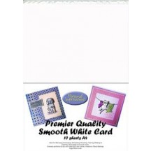 Personal Impressions A4 Premier Quality Smooth White Card - 10 Sheets