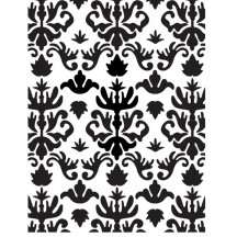 Ultimate Crafts Royalty Universal Embossing Folder - Bella Collection