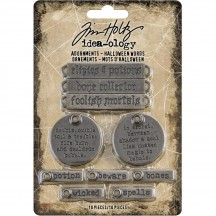 Tim Holtz Idea-ology Halloween Metal Adornments TH93966