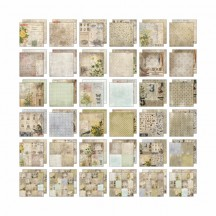 "Tim Holtz Idea-ology Wallflower 12""x12"" Paper Stash - TH93110"