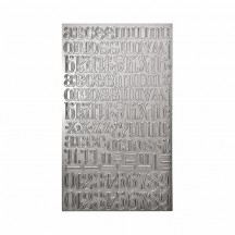 Tim Holtz Idea-ology Industrious Chiseled Stickers - TH93137
