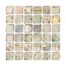 "Tim Holtz Idea-ology Memoranda 12""x12"" Paper Stash TH93550"