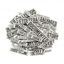 Tim Holtz Idea-ology Quote Chips - TH93563
