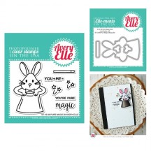 Avery Elle Pure Magic Clear Stamps & Cutting Die Set