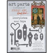Studio 490 by Wendy Vecchi Art Parts from Stampers Anonymous - Doorplates And Keys