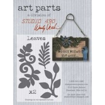 Studio 490 by Wendy Vecchi Art Parts from Stampers Anonymous - Leaves