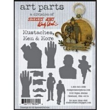 Studio 490 by Wendy Vecchi Art Parts from Stampers Anonymous - Mustaches, Men & More