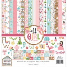 "Echo Park All Girl 12""x12"" Collection Kit ALG206020"