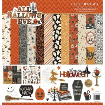 "Photoplay All Hallows Eve 12""x12"" Halloween Collection Pack AHE9509"