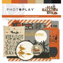 Photoplay All Hallows Eve Ephemera Die Cut Halloween Cardstock Pieces AHE9510