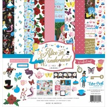 "Echo Park Alice In Wonderland No 2 12""x12"" Collection Kit WO214016"