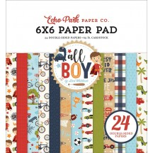 "Echo Park All Boy 6""x6"" Double-Sided Paper Pad ALB207023"