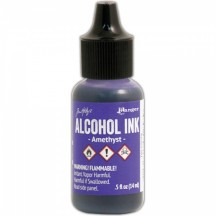 Ranger Tim Holtz Adirondack Alcohol Ink - Amethyst Purple TAL52579