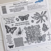 Creative Expressions U-Mount Rubber Stamps - Nature's Wonders
