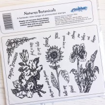 Creative Expressions U-Mount Rubber Stamps - Nature's Botanicals