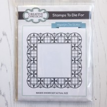 Creative Expressions Cling Stamp - Stamps To Die For Geometric Square - UMS584