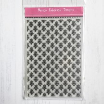 Personal Impressions Clear Stamps - Vintage Background by Marion Emberson