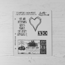 Stampers Anonymous Tim Holtz Cling Mount Stamps - From the Heart CMS006