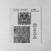 Stampers Anonymous Tim Holtz Cling Mount Stamps - Garment District CMS007