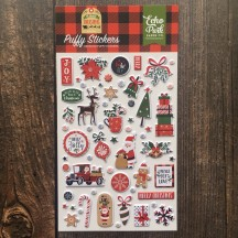 Echo Park My Favorite Christmas Puffy Icon Stickers MFC190066