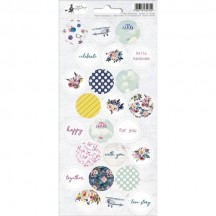 P13 When We First Met Circle Icon Stickers 03 P13-385