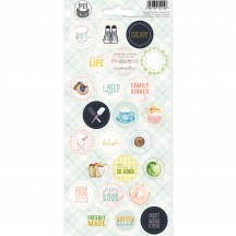 P13 Around the Table Circle Icon & Phrase Stickers 03 P13-TAB-13