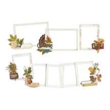 Simple Stories Simple Vintage Autumn Splendor Chipboard Layered Frames 11222