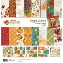 "Simple Stories Simple Vintage Autumn Splendor 12""x12"" Collection Kit 11200"