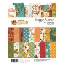 "Simple Stories Simple Vintage Autumn Splendor 6""x8"" Double-Sided Paper Pad 11218"