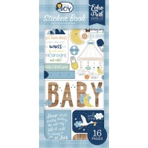 Echo Park Baby Boy Sticker Book BAB206029