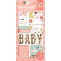 Echo Park Baby Girl Sticker Book BAG202029
