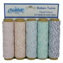 Creative Expressions 100yds Baker's Twine - Pastels